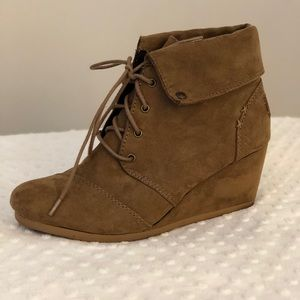 Mad Love faux suede bootie